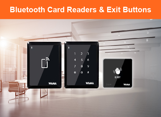 Bluetooth Readers & Exit Buttons